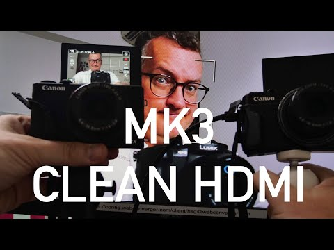 Canon G7X mark III DOES  CLEAN HDMI!