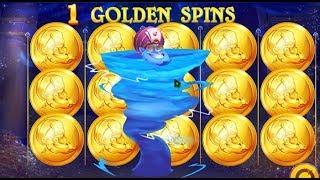 Machine à sous CRAZY GENIE 🍀🍀🍀 des GOLDEN SPINS et GOLDEN BONUS