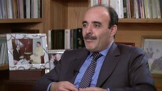 الياس العمري رئيس حزب الأصالة والمعاصرة المغربي في المشهد