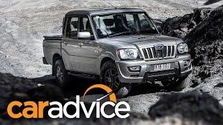 2015 Mahindra Pikup Off-road Quick Review