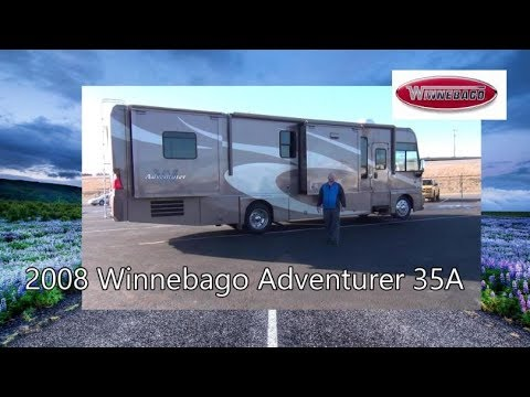 Pre-Owned 2008 Winnebago Adventurer 35A   Mount Comfort RV
