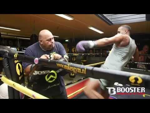 Badr Hari is back in Holland to train at Mikes Gym Amsterdam