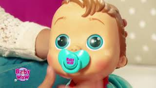 Baby WOW Charlie Crawling Interactive Talking Doll Sleeping Learning Sounds Toy