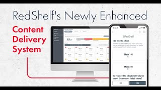 RedShelf's Newly Enhanced Content Delivery System (CDS)