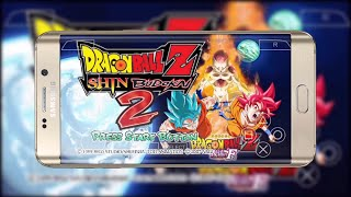 Dbz Shin Budokai Mod For PPSSPP On Android Mobile