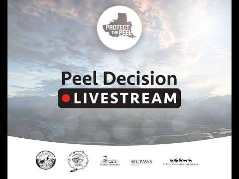 Peel Watershed Decision Press Conference December 1 2017