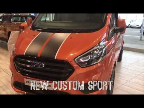 new ford transit custom sport van 2018 2019 youtube. Black Bedroom Furniture Sets. Home Design Ideas