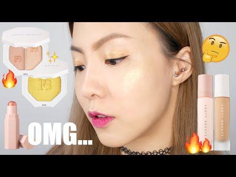 [乾肌可用?] Fenty Beauty 粉底測試兩天 + 產品用後感   HIDDIE T