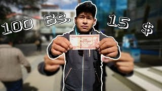 ¿TE PUEDES VESTIR CON $15 Dólares EN BOLIVIA?