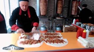 გლდანის შაურმა  Как делается самая лучшая Шаурма в мире!!! The best Doner Kebab in Tbilisi