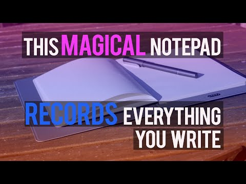 XP Pen Note Plus: Magical Notepad Records What You Write