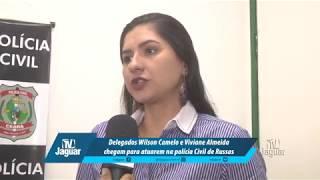 Delegados Wilson Camelo e Viviane Almeida chegam para atuarem na polícia Civil de Russas