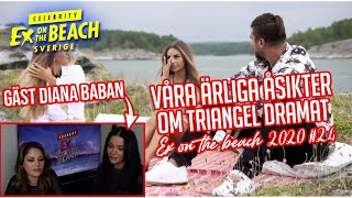REAGERAR PÅ EX ON THE BEACH MED DIANA BABAN | EP 24 *SISTA AVSNITTET*