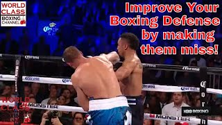 Boxing Defense | How To Roll Your Head And Chin To Avoid Punches