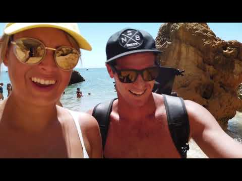 Lagos Portugal // Algarve Travel Vlog