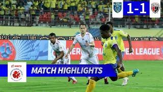 Kerala Blasters FC 1-1 NorthEast United FC - Match 48 Highlights | Hero ISL 2019-20