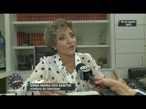 Donos de animais de estimação já podem tirar identidade dos mascotes - SBT Brasil (21/03/17)