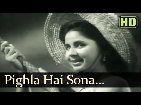 Pighla Hai Sona - Jaal Songs - Dev Anand - Geeta Bali - SD Burman Hits