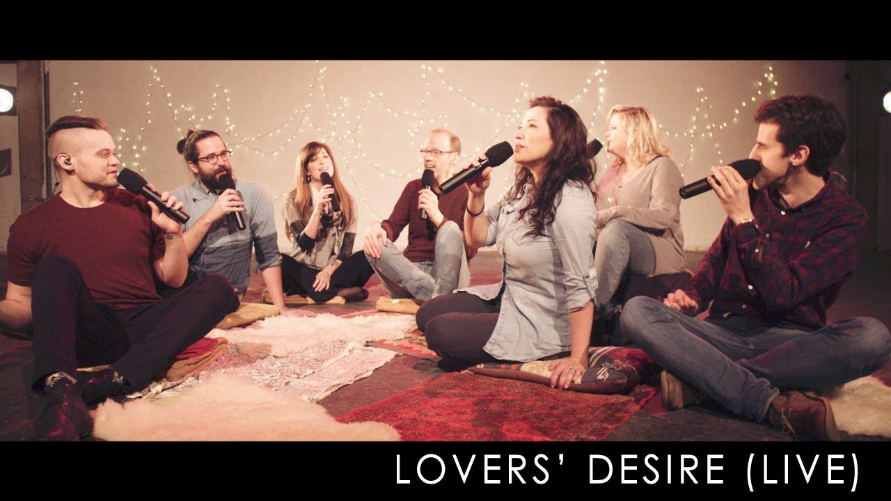 video: The Swingles - Lovers' Desire (LIVE a cappella session)