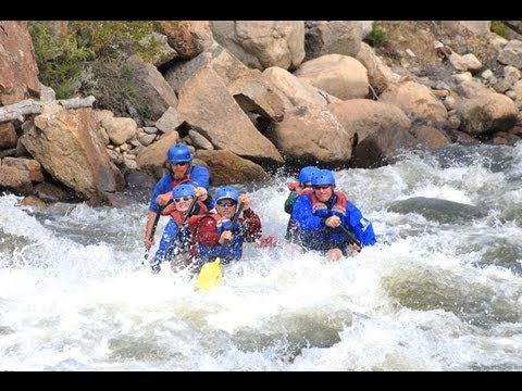 Whitewater Rafting The Numbers on the Arkansas River