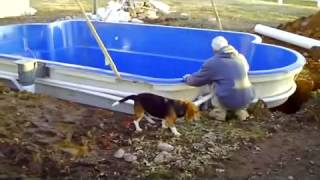 Awesome Fiberglass Pool Installation Video!44 Thumbnail