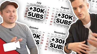 How Sean Grew from 0 to 30,000 Subs per MONTH!