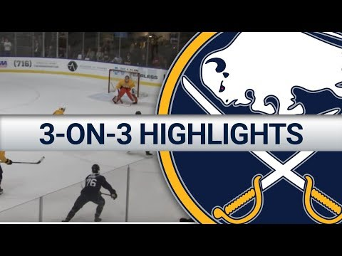Buffalo Sabres 3-on-3 Highlights | Development Camp