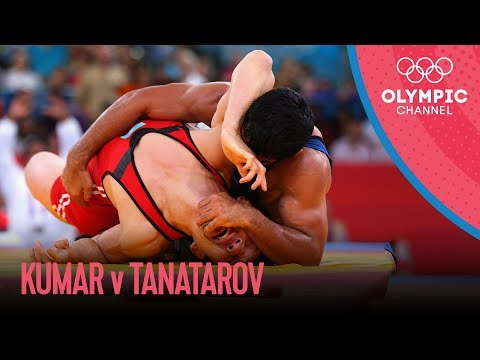 Sushil Kumar v Akzhurek Tanatarov | Men's Wrestling 66kg Semi-Final | London 2012 Olympics