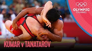 Download Sushil Kumar v Akzhurek Tanatarov | Men's Wrestling 66kg Semi-Final | London 2012 Olympics Mp3 and Videos