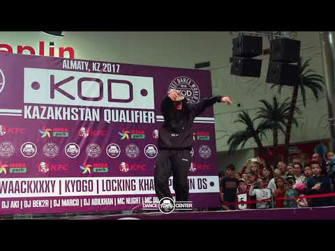 KYOGO JAPAN | HIP-HOP JUDGE SHOWCASE | KOD KAZAKHSTAN