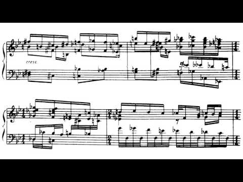 Boris Pasternak ‒ Piano Sonata in B Minor