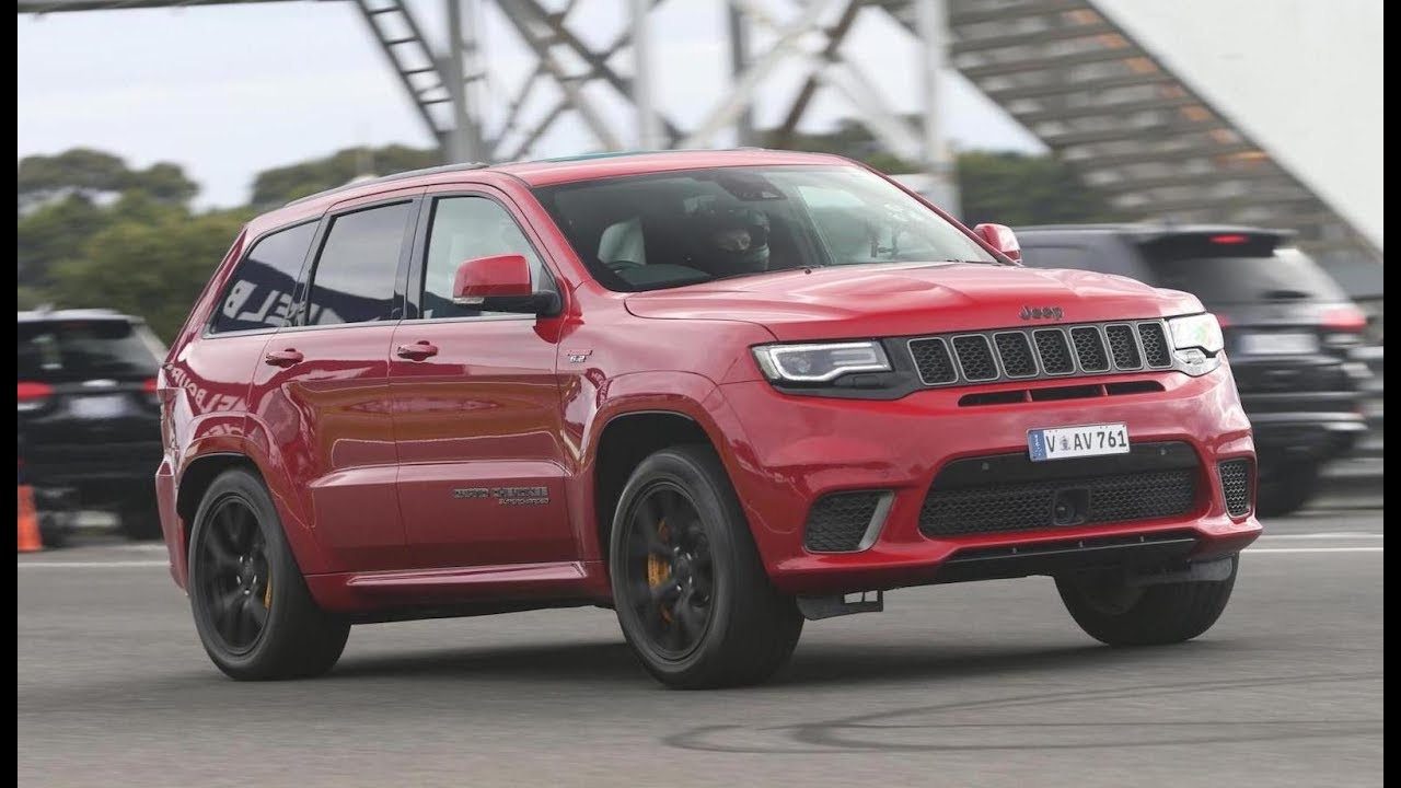 Jeep Grand Cherokee Trackhawk Officially Launches In Australia