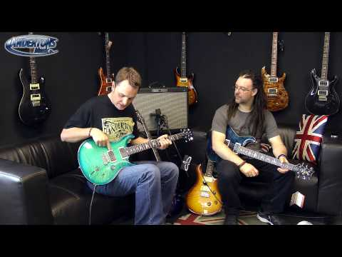 PRS USA Custom 22 & 24 - The Best Looking Guitars We Have Reviewed?