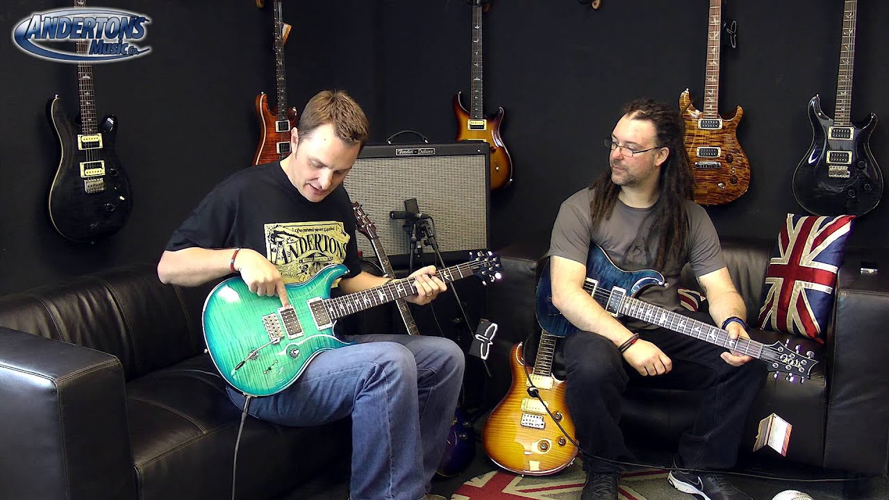 PRS USA Custom 22 & 24 - The Best Looking Guitars We Have Reviewed ...