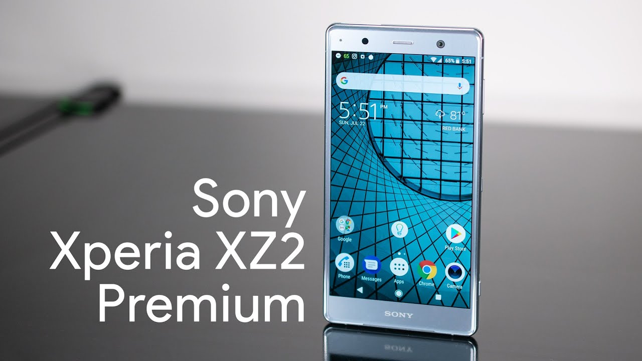 Sony Xperia XZ2 Premium với thiết kế độc đáo, khác hẳn so với những thế hệ đi trước