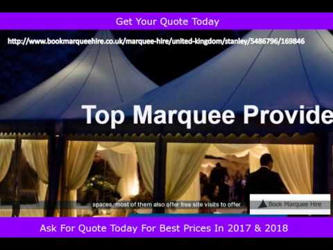 Marquee Hire Quotes Stanley