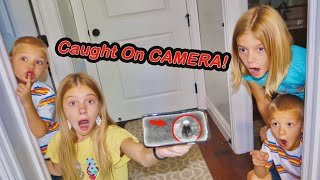 CAUGHT On Security Camera! Mailman Hides Aliens In Tannerites House From Kids!