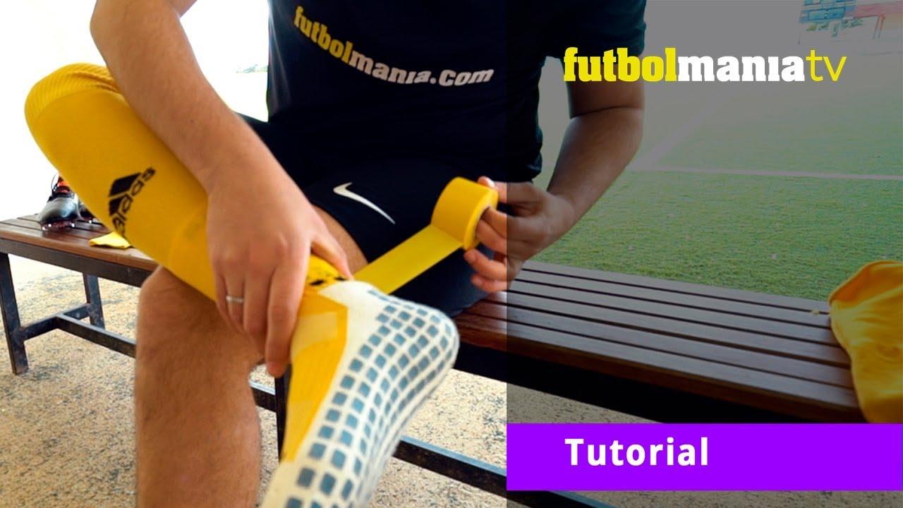Tutorial Aprende A Utilizar Los Tapes Medias Y Calcetines Antideslizantes De Manera Correcta Youtube