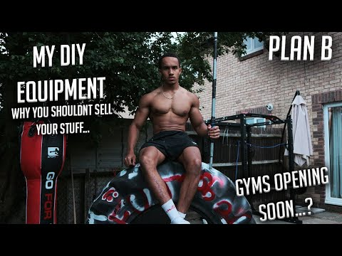 UK GYMS OPENING SOON...? | MY FREE HOME GYM EQUIPMENT | WHY YOU SHOULDN'T SELL YOUR STUFF...