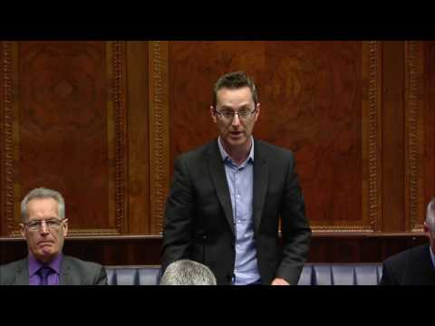 Question Time: Executive Office Tuesday 29 November 2016