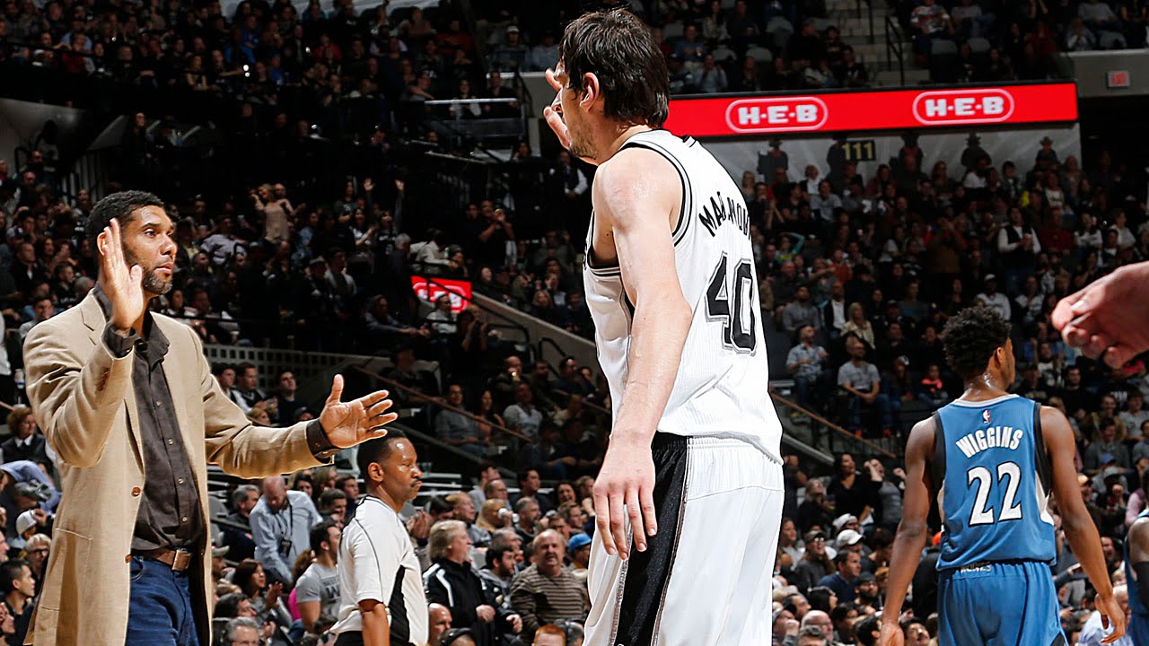 Boban Marjanovic Shoots 7-for-7 Against the T-Wolves! - YouTube 2f3a63597