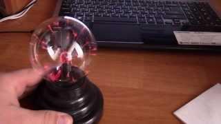 как сделать плазма шар
