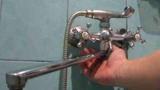 как починить смеситель в ванне своими руками. Ремонт смесителя от Сами с усами