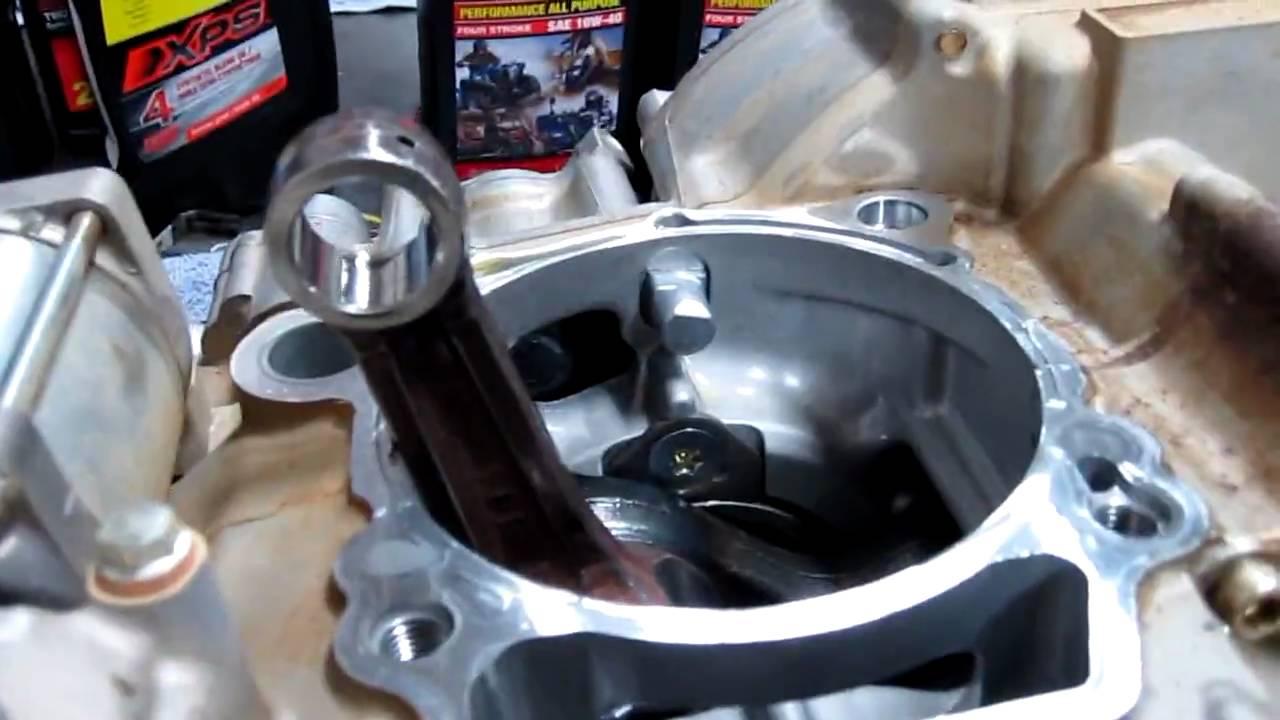 Yamaha YFZ450R Engine!