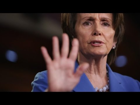 Pelosi changes mind on border law