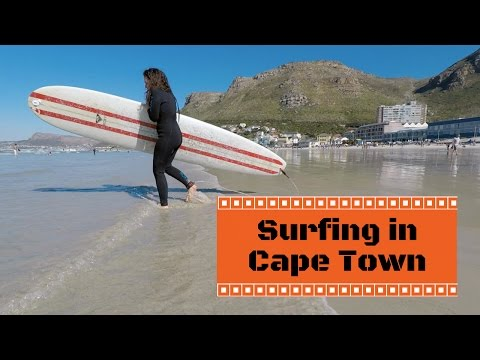 Surfing in Muizenberg | Cape Town | Ep. 2