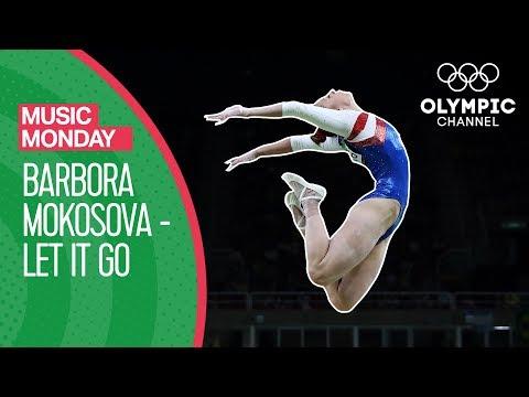 "Barbora Mokošová's Gymnastics Floor Routine to ""Let It Go"" (Disney Cover) | Music Monday"