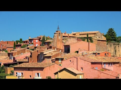 Roussillon, Provence, France [HD] (videoturysta)