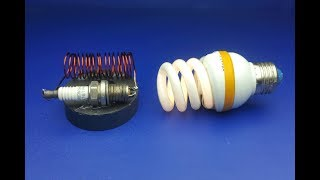 New Free Energy Generator Wireless , experiment project 2019