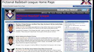 Out of the Park Baseball 11 Interface Tutorial
